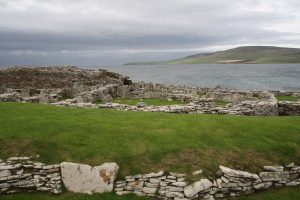 Broch with village